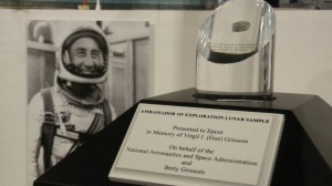 Moon Rock Grissom Tribute at EPCOT American Adventure