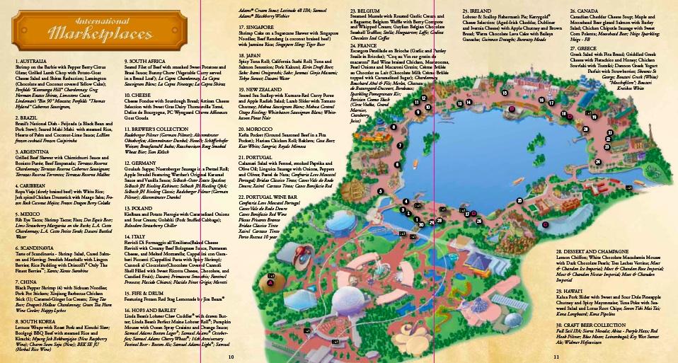 map of epcot pdf - Ecosia