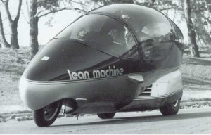 The Lean Machine from EPCOT World of Motion