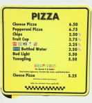 EPCOT Pizza Prices January 2009