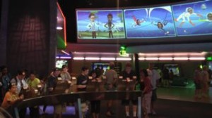 The interactive exhibit inside Spaceship Earth at EPCOT